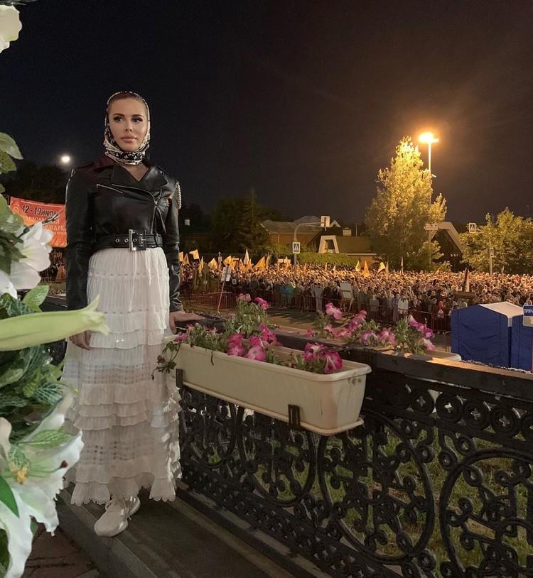 Михалкова после Крестного Хода в Екатеринбурге.