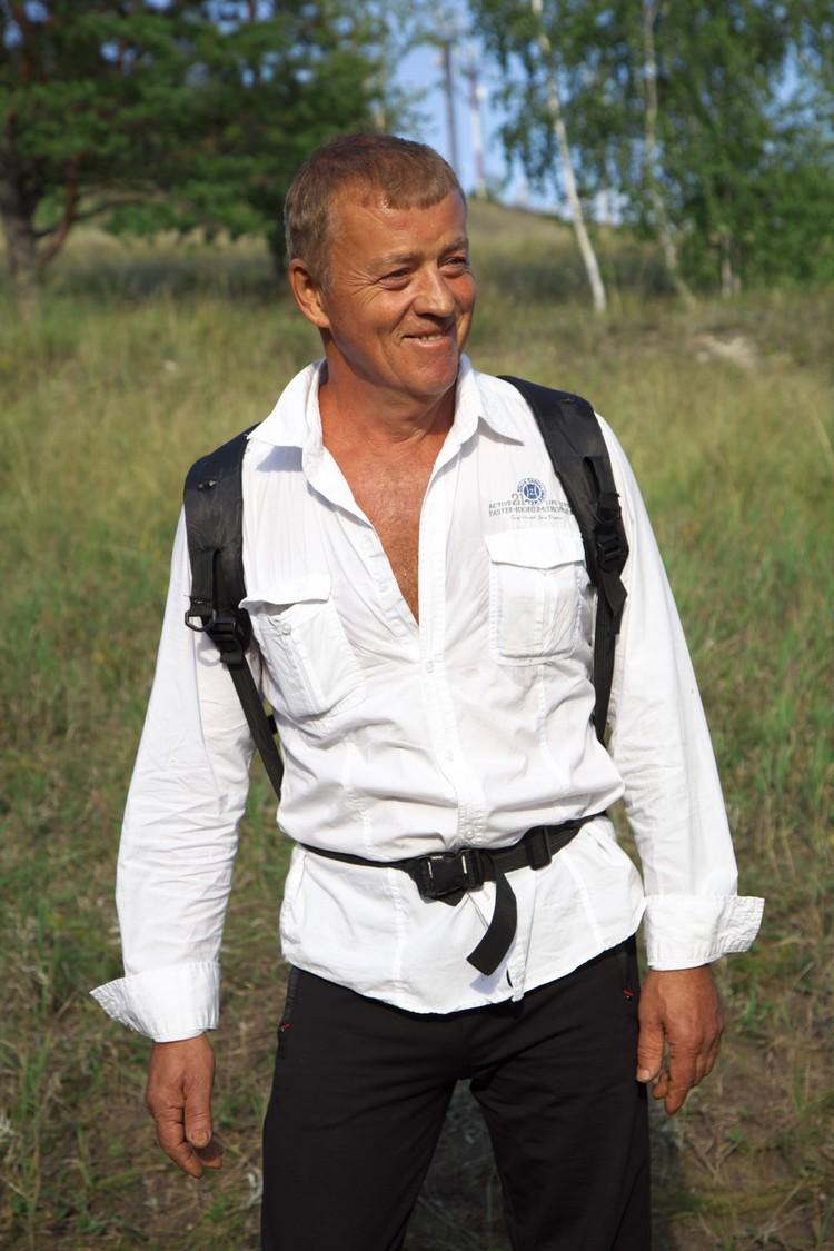 Тот самый проводник на Светелку. Фото: Андрей Ларионов