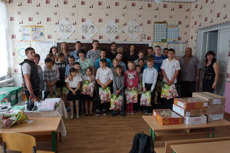 Во всей школе 31 ребенок.
