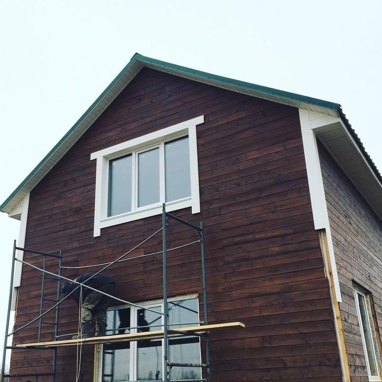 Дом, который построил Рома. Фото: instagram.com