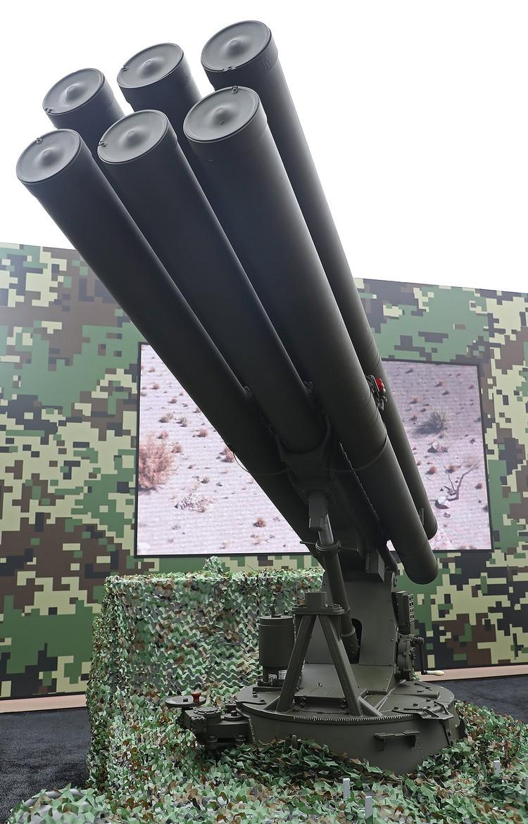 «Гермес» оснащен сверхзвуковыми ракетами дальнего действия, способными поразить цель в радиусе 100 км. Фото: Антон Новодережкин/ТАСС