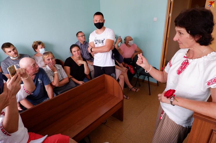 Чтобы поддержать Ирину Тишковскую, собрался полный зал