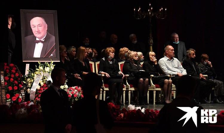 4 сентября в Малом театре прошла церемония прощания с народным артистом России.