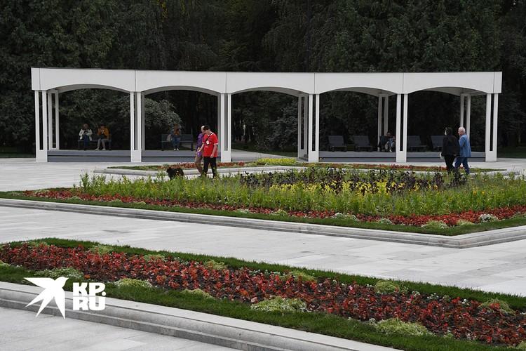 Отдыхать и гулять москвичи смогут в парке круглый год