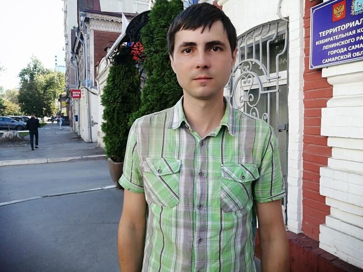 Константин Опарин своими глазами видел, как обрушился его дом