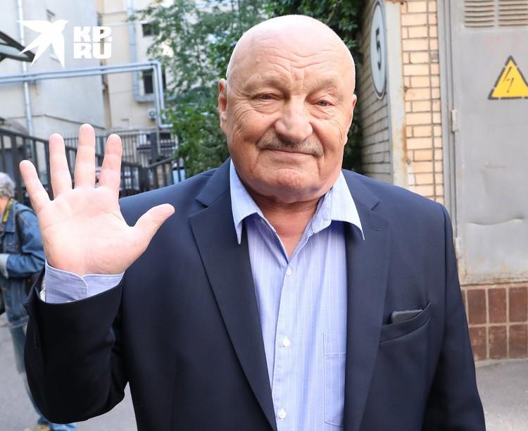 Актер Николай Чиндяйкин.