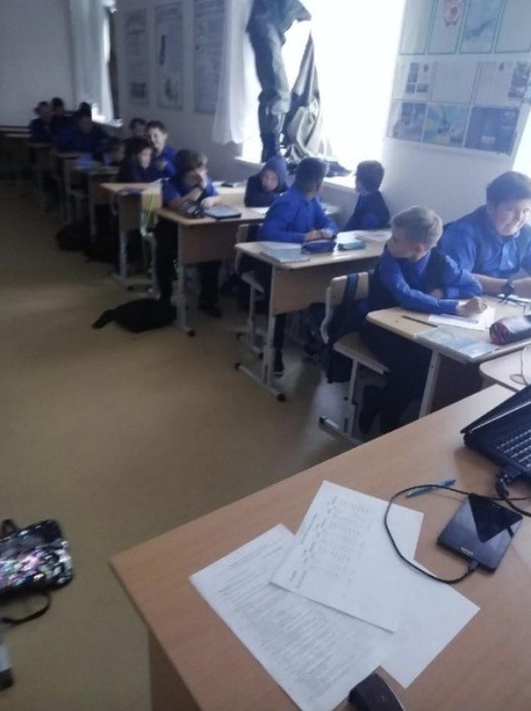 Дети оказались не готовы к такому уроку. Фото: пере Подслушано Ишим