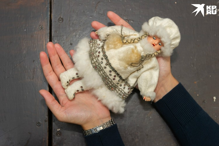 Снегурочка стала не просто семейной реликвией, а настоящим талисманом