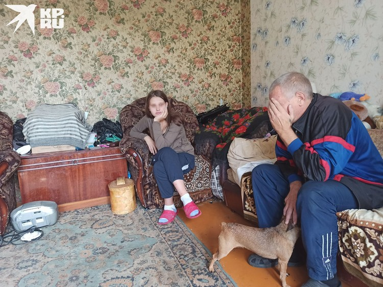 Отец и его 14-летняя дочка, которая ждет ребенка.
