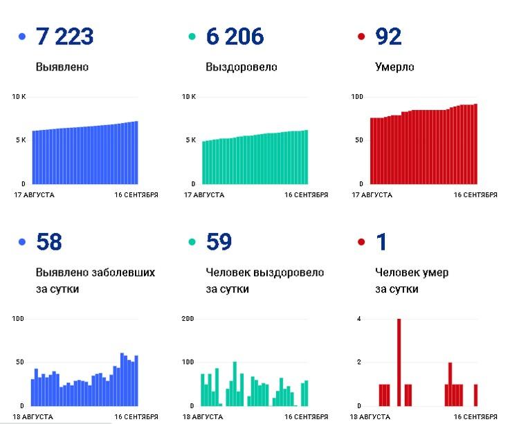 Данные с сайта стопкоронавирус.рф