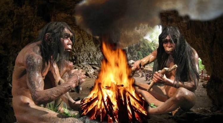 Огонь, равно, как и шашлык, наши предки познали примерно миллион лет назад.