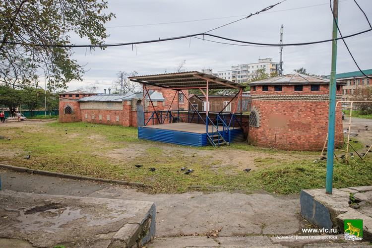 На Полярной необходимо благоустроить общественную территорию. Фото: Евгений Кулешов