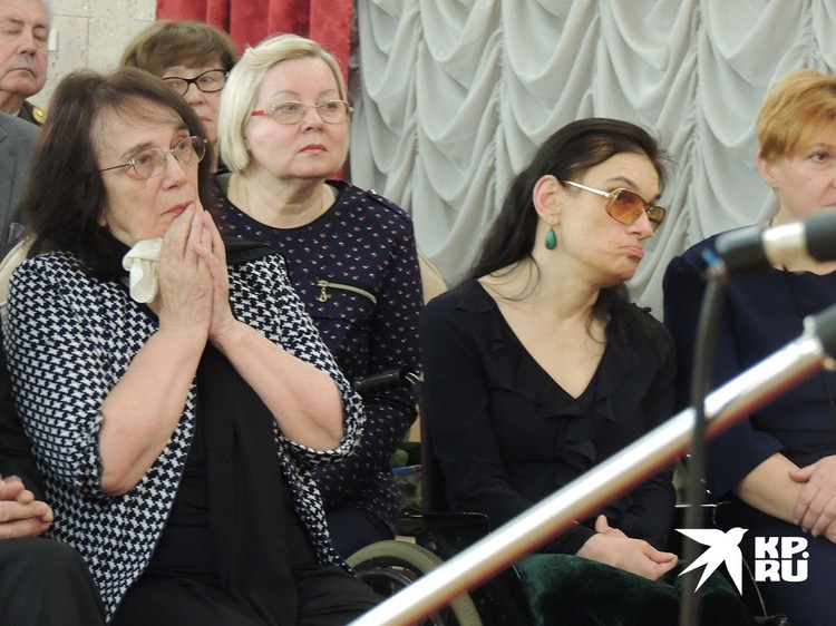 Вдова Баталова и дочь Марич