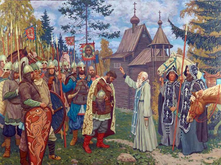 В «Житии Сергия Радонежского» говорится, что Дмитрий приезжал к нему перед войной с Мамаем