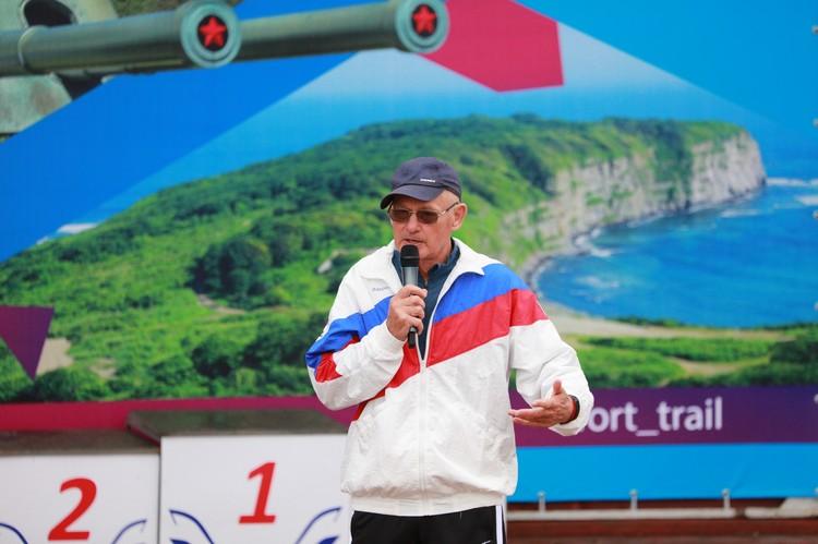 Александр Нестеренко, ветеран спорта, организатор фестиваля, председатель НО «Здоровое приморье».