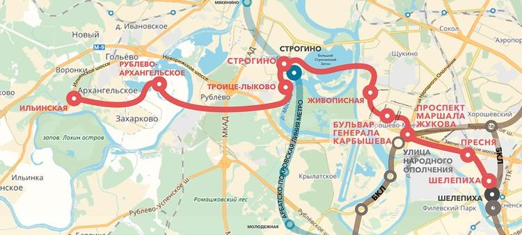 Рублево-Архангельская линия метро соединит центр столицы и Рублево-Архангельское