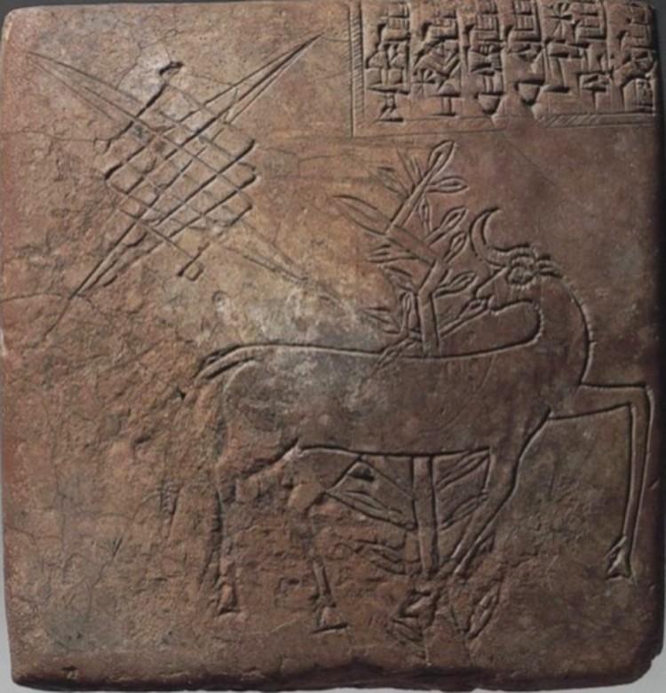Табличка шумерского писца, XXV век до н.э.