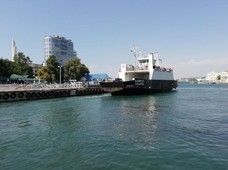 Экология бухт Севастополя улучшилась, когда промышленность пришла в упадок.