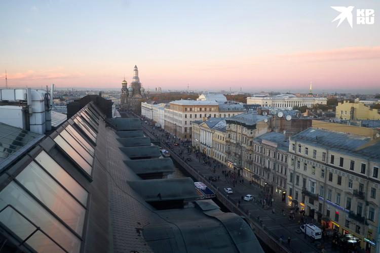 Открыть крыши для экскурсий - давняя мечта Петербурга