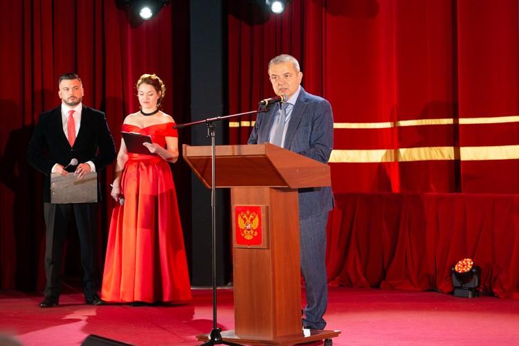 Вице-президент компании «Норникель» Андрей Грачёв. Фото: Ольга ЛОБАЧЕВА