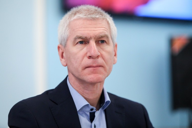 Министр спорта Олег Матыцин