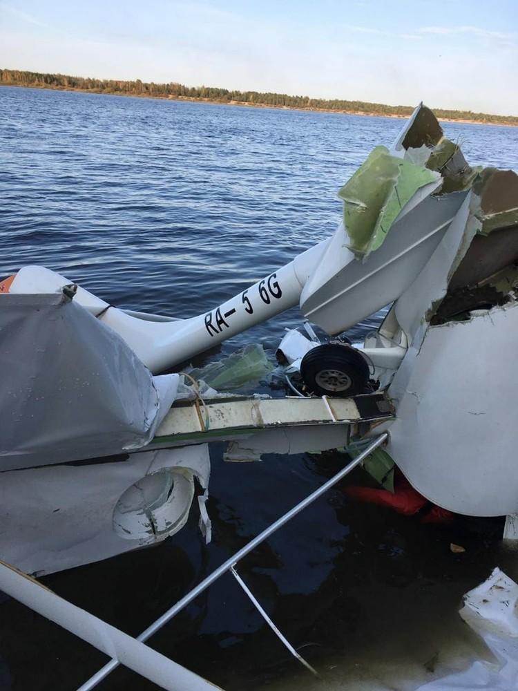Инспекторы ГИМС осуществили эвакуация воздушного судна к берегу. Фото: ГУ МЧС по Нижегородской области