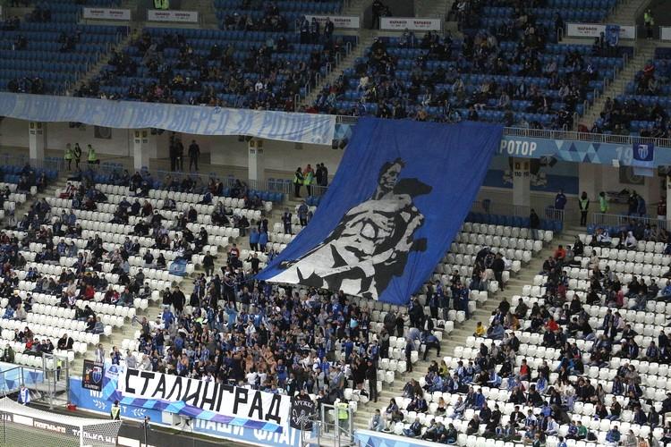 Волгоградские болельщики соскучились по футболу. Три предыдущих матча Ротора были отменены.
