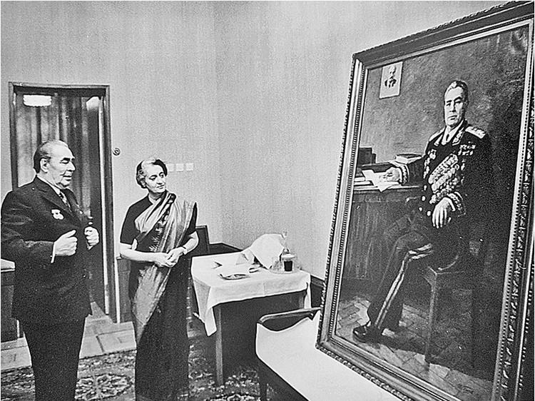 Премьер-министр Индии Индира Ганди дружила с Леонидом Ильичом. Фото: Владимир Мусаэльян