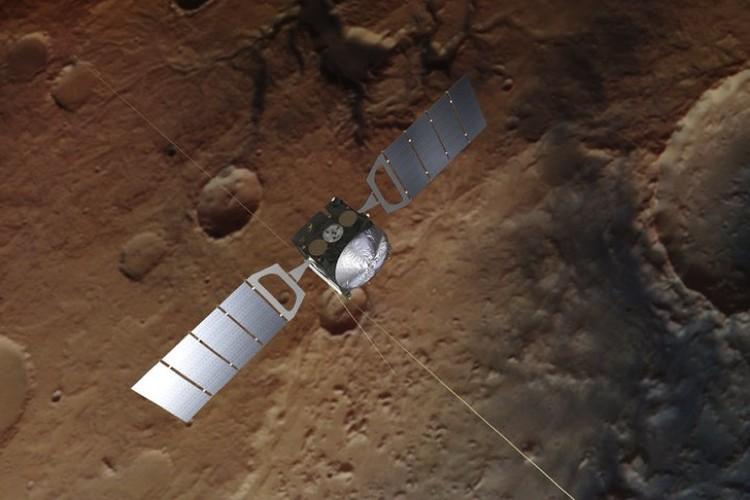 Космический аппарат Mars Express, с которого были обнаружены марсианские озера.