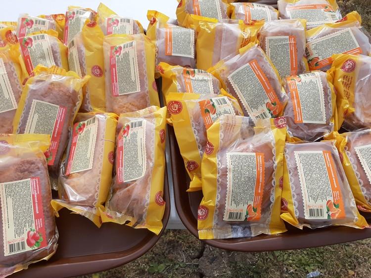 Пирожки от Самарского БКК в помощь участникам субботника.