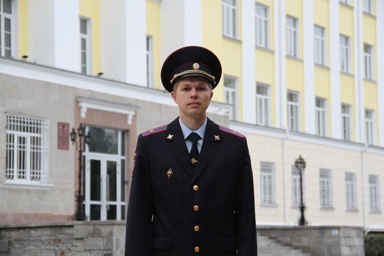 Найти женщину удалось майору полиции Александру Никифорову