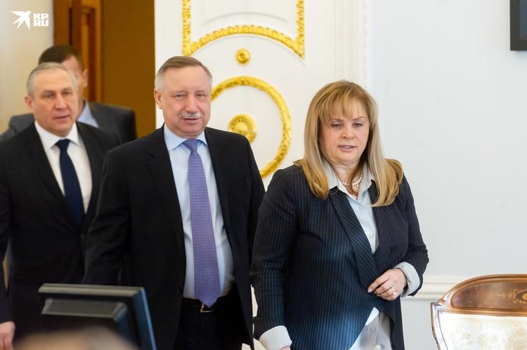 Глава ЦИК Элла Памфилова заявила, что считает избиркома Санкт-Петербурга неудовлетворительной.