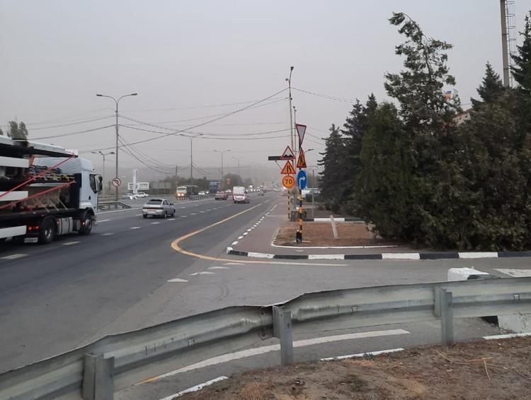 На трассу пока лучше не выезжать. Фото: УГИБДД России по РО.
