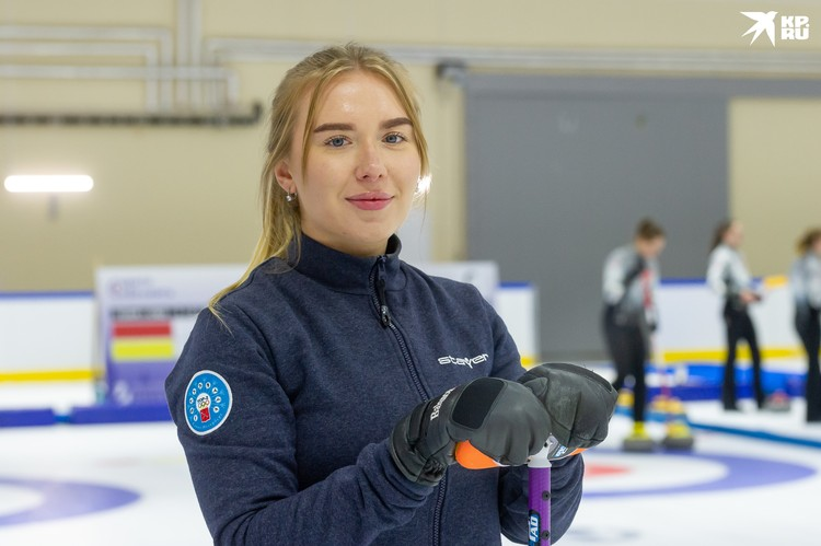 Ирина Низовцева, чемпионка России, член национальной сборной по керлингу