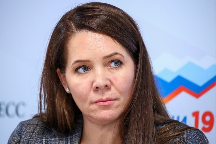 Заместитель мэра Москвы Анастасия Ракова. Фото: Петр Ковалев/ТАСС