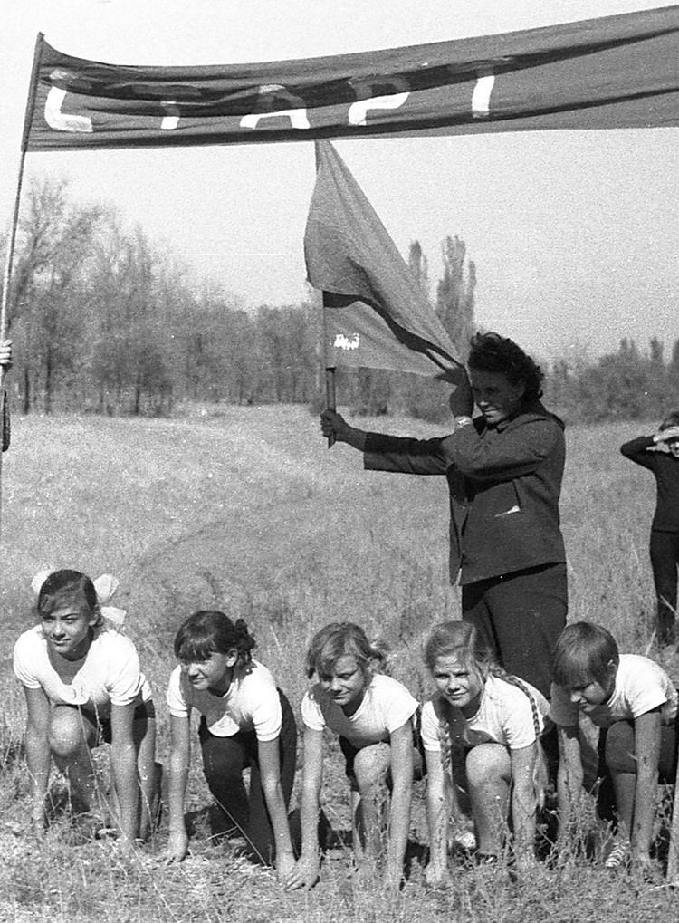 Физкультуру в нашей школе вела Любовь Михайловна Булгакова.