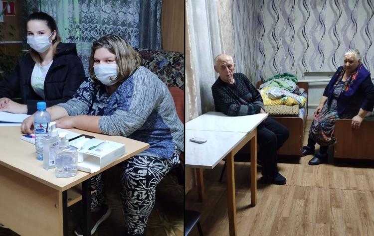 Некоторые эвакуированные жители сейчас находятся в безопасности в пунктах временного размещения. Фото: правительство Рязанской области
