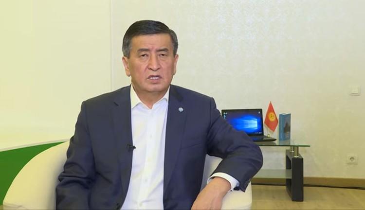 Президент записал видеообращение, в котором заявил, что открыт для диалога со всеми политическими силами страны.