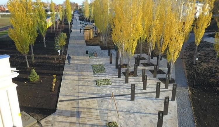 Реконструкция городского пространства обошлась в 144 млн рублей. Фото: minstroyrf.gov.ru