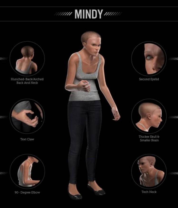 Минди - венец эволюции ближайших 1000 лет.