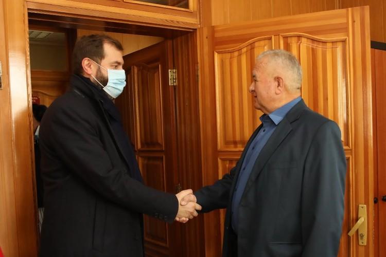 Виталий Шадрин, руководитель ЗАО «Большееланское». ФОТО: Лариса Федорова.