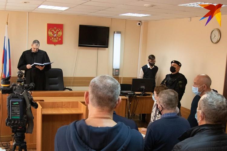 Экс-глава Удмуртии Александр Соловьев на заседании суда 12.10.2020