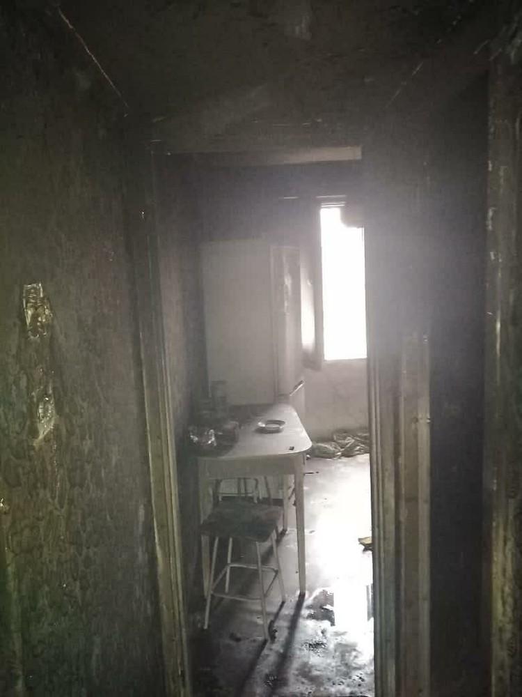 Серьезный пожар произошел в жилом доме Нижнего Новгорода