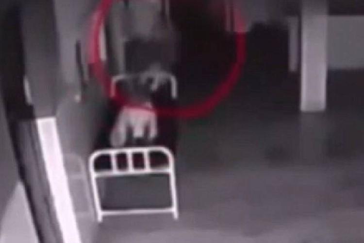 Выход души из тела запечатлели на видео.