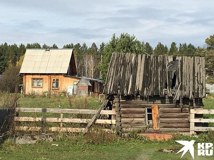 ...или халупы 3Х4 метра. Все это похоже на дачные посёлки: в Сибири так не строят.