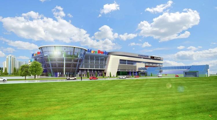 Будущий торговый центр в Брянске