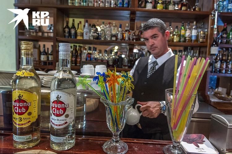 В гаванском баре. Фото: Алексей Белянчев