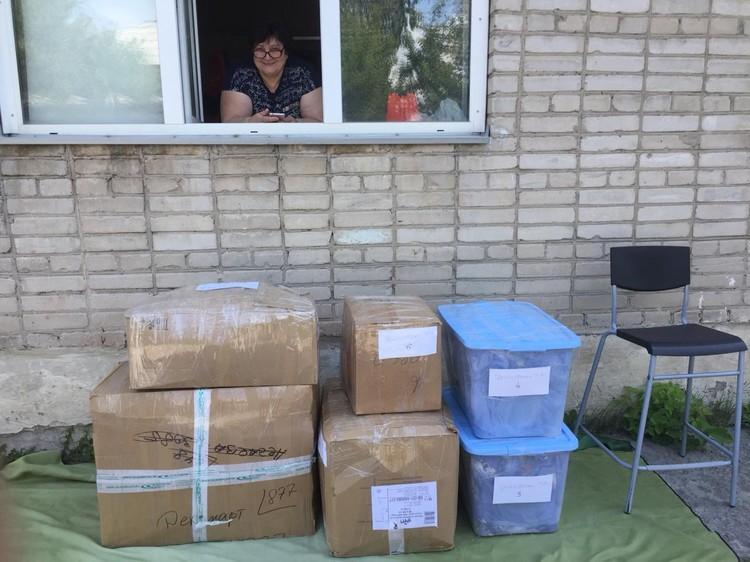 Анна с дочерью и внуками собрала сумки и переехала в Крым в конце лета. Фото: личный архив