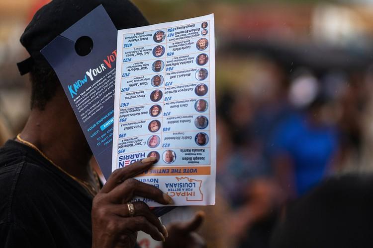 В избирательных бюллетенях значатся не только фамилии Байдена и Трампа