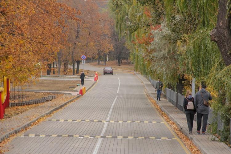 В Донецк пришла настоящая осень